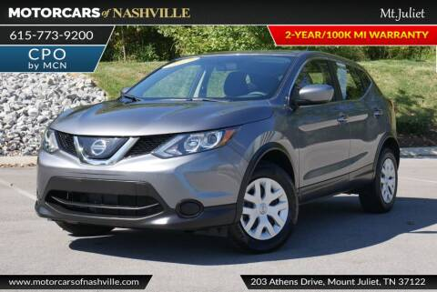 2019 Nissan Rogue Sport for sale at MotorCars of Nashville in Mount Juliet TN