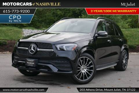 2020 Mercedes-Benz GLE for sale at MotorCars of Nashville in Mount Juliet TN