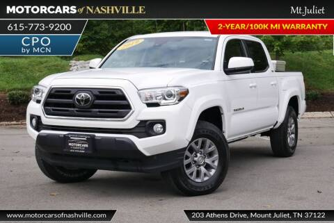 2019 Toyota Tacoma for sale at MotorCars of Nashville in Mount Juliet TN