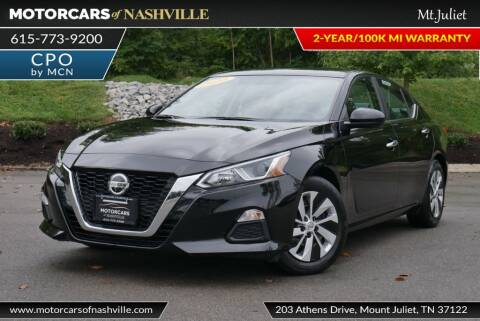 2020 Nissan Altima for sale at MotorCars of Nashville in Mount Juliet TN
