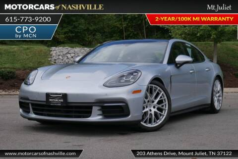 2017 Porsche Panamera for sale at MotorCars of Nashville in Mount Juliet TN