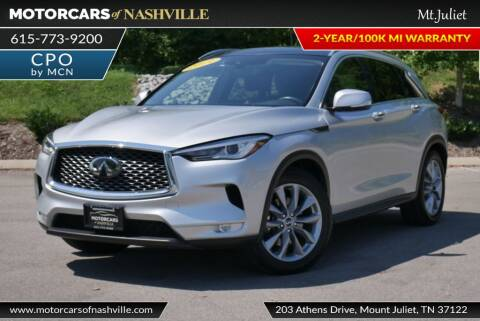 2019 Infiniti QX50 for sale at MotorCars of Nashville in Mount Juliet TN