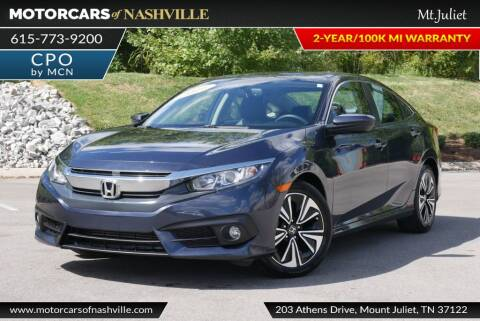 2016 Honda Civic for sale at MotorCars of Nashville in Mount Juliet TN