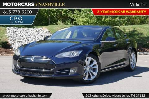 2014 Tesla Model S for sale at MotorCars of Nashville in Mount Juliet TN