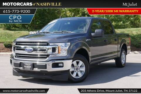 2019 Ford F-150 for sale at MotorCars of Nashville in Mount Juliet TN