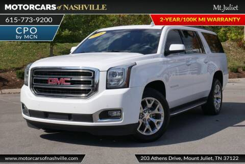 2016 GMC Yukon XL for sale at MotorCars of Nashville in Mount Juliet TN