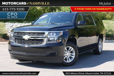 2020 Chevrolet Suburban for sale at MotorCars of Nashville in Mount Juliet TN