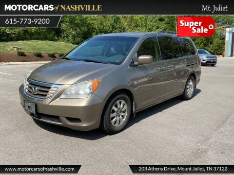 2010 Honda Odyssey for sale at MotorCars of Nashville in Mount Juliet TN