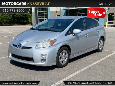 2010 Toyota Prius for sale at MotorCars of Nashville in Mount Juliet TN