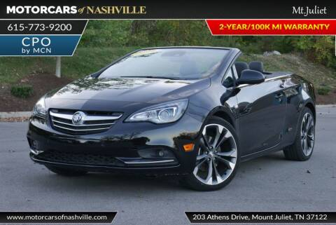 2019 Buick Cascada for sale at MotorCars of Nashville in Mount Juliet TN