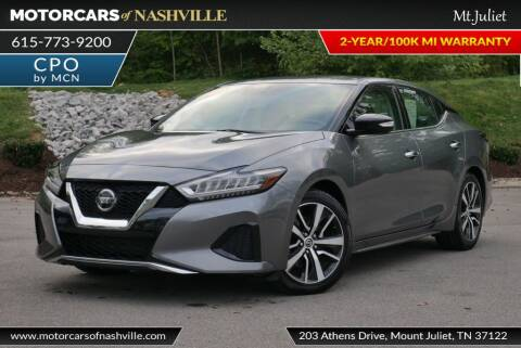 2019 Nissan Maxima for sale at MotorCars of Nashville in Mount Juliet TN