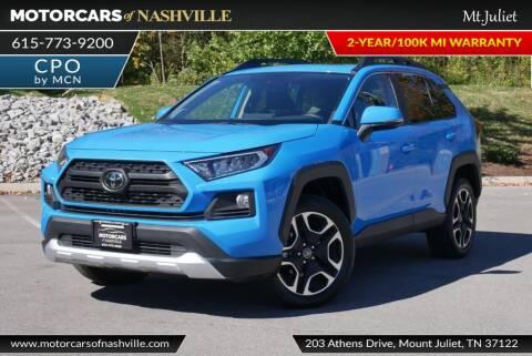 2019 Toyota RAV4 for sale at MotorCars of Nashville in Mount Juliet TN