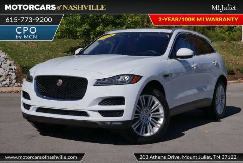 2018 Jaguar F-PACE for sale at MotorCars of Nashville in Mount Juliet TN