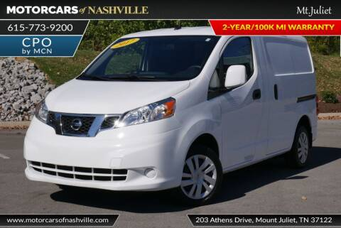 2017 Nissan NV200 for sale at MotorCars of Nashville in Mount Juliet TN