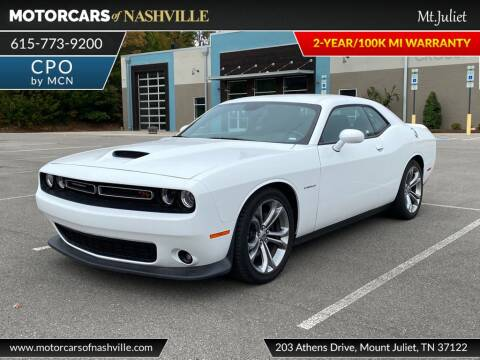 2020 Dodge Challenger for sale at MotorCars of Nashville in Mount Juliet TN