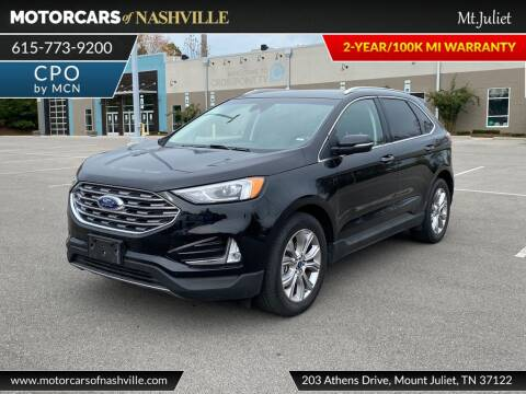 2019 Ford Edge for sale at MotorCars of Nashville in Mount Juliet TN