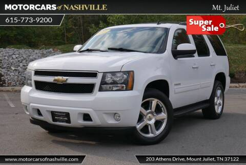 2011 Chevrolet Tahoe for sale at MotorCars of Nashville in Mount Juliet TN