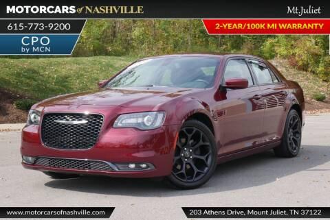 2019 Chrysler 300 for sale at MotorCars of Nashville in Mount Juliet TN
