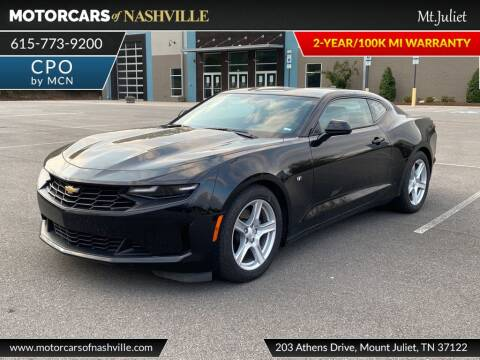 2020 Chevrolet Camaro for sale at MotorCars of Nashville in Mount Juliet TN