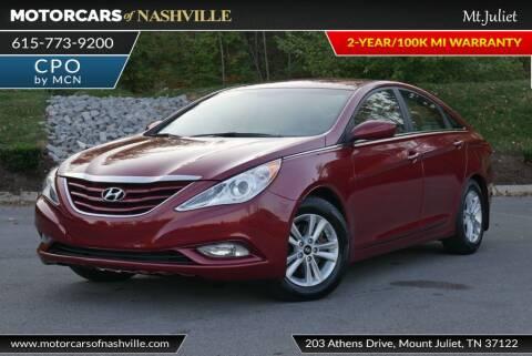 2013 Hyundai Sonata for sale at MotorCars of Nashville in Mount Juliet TN