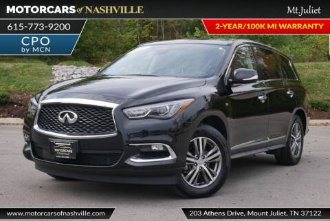 2019 Infiniti QX60 for sale at MotorCars of Nashville in Mount Juliet TN