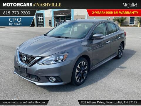 2019 Nissan Sentra for sale at MotorCars of Nashville in Mount Juliet TN