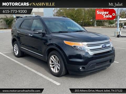 2015 Ford Explorer for sale at MotorCars of Nashville in Mount Juliet TN