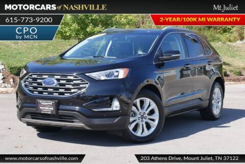 2020 Ford Edge for sale at MotorCars of Nashville in Mount Juliet TN