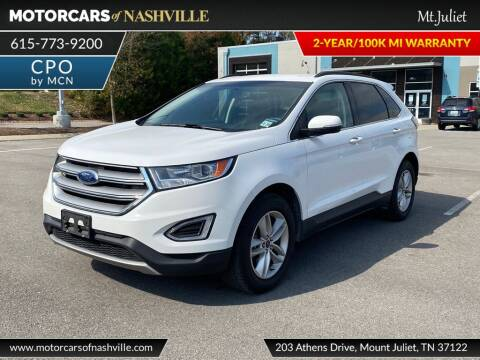 2018 Ford Edge for sale at MotorCars of Nashville in Mount Juliet TN