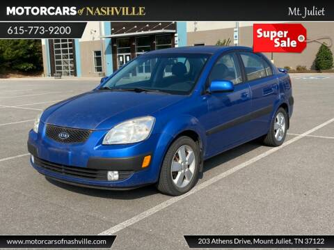 2009 Kia Rio for sale at MotorCars of Nashville in Mount Juliet TN