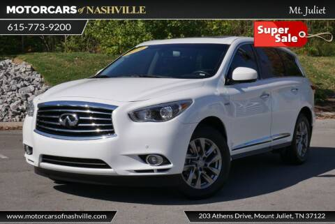 2014 Infiniti QX60 Hybrid for sale at MotorCars of Nashville in Mount Juliet TN