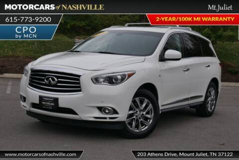 2014 Infiniti QX60 for sale at MotorCars of Nashville in Mount Juliet TN
