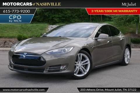 2016 Tesla Model S for sale at MotorCars of Nashville in Mount Juliet TN