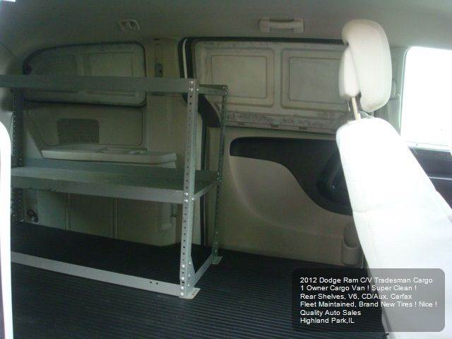2012 RAM C/V Base 4dr Cargo Mini Van - Highland Park IL