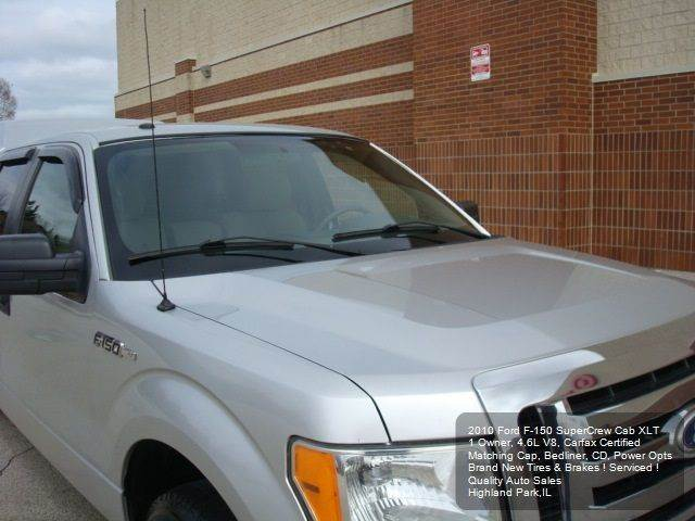 2010 Ford F-150 XLT 4x2 4dr SuperCrew Styleside 6.5 ft. SB - Highland Park IL