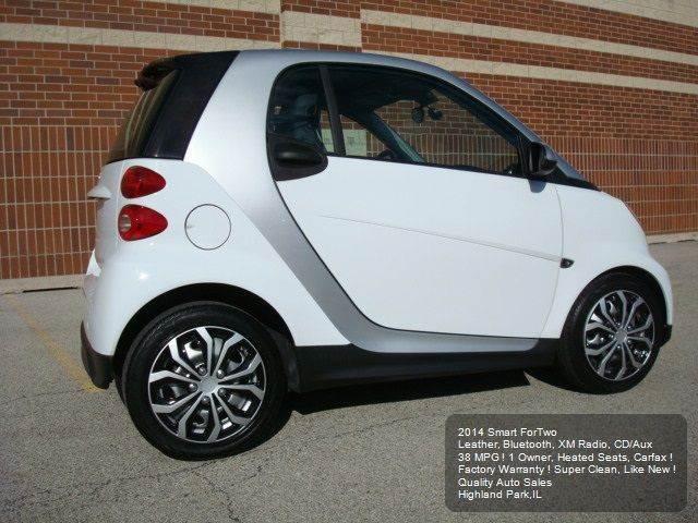2014 Smart fortwo pure 2dr Hatchback - Highland Park IL