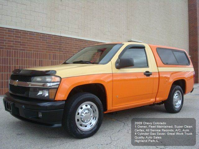 2009 Chevrolet Colorado 4x2 Work Truck Regular Cab 2dr - Highland Park IL