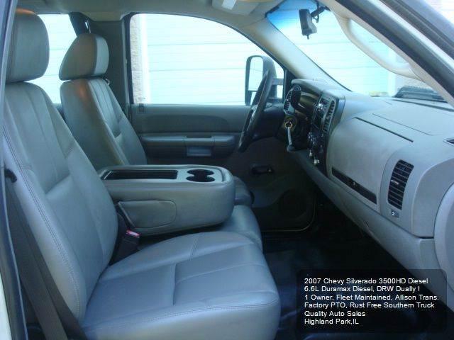 2007 Chevrolet Silverado 3500HD Utility Service Body - Highland Park IL