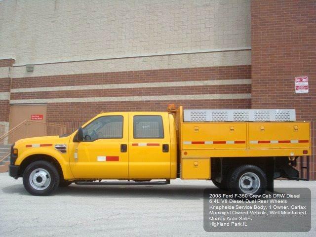 2008 Ford F-350 Super Duty Utility Service Body - Highland Park IL