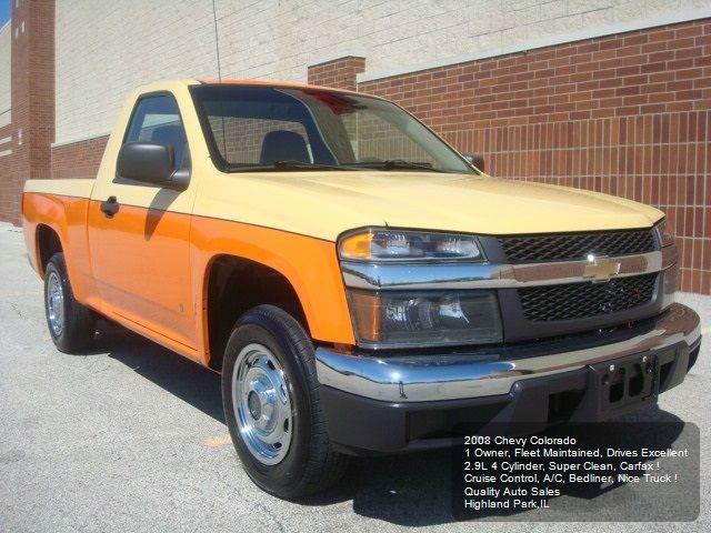 2008 Chevrolet Colorado 4x2 Work Truck Regular Cab 2dr - Highland Park IL