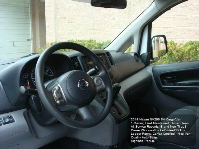 2014 Nissan NV200 SV 4dr Cargo Mini-Van - Highland Park IL
