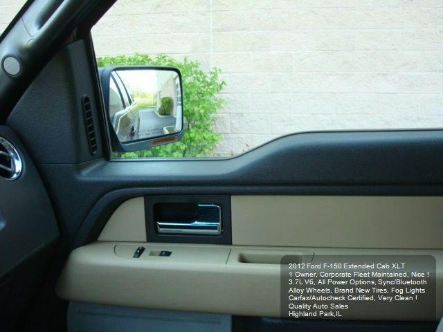 2012 Ford F-150 4x2 XLT 4dr SuperCab Styleside 6.5 ft. SB - Highland Park IL