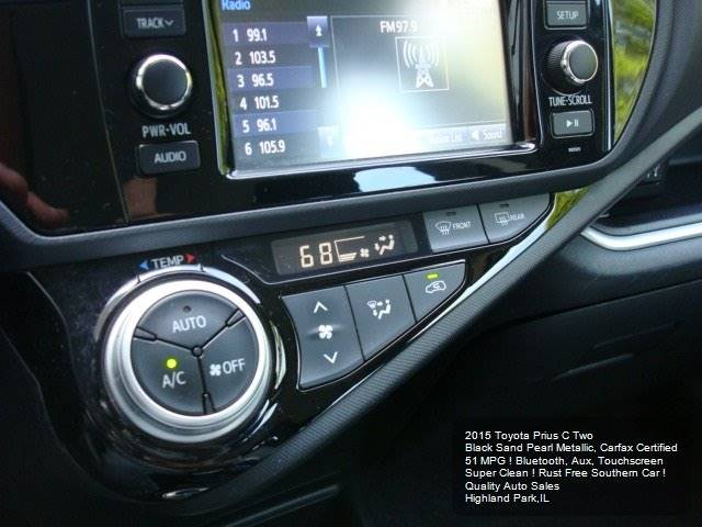 2015 Toyota Prius c Two 4dr Hatchback - Highland Park IL