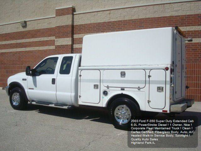 2003 Ford F-350 Super Duty 4dr SuperCab XL Rwd LB - Highland Park IL