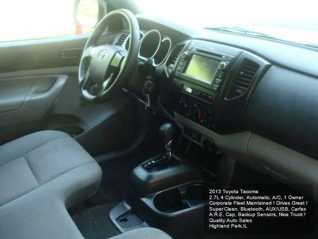 2013 Toyota Tacoma 4x2 2dr Regular Cab 6.1 ft SB 4A - Highland Park IL