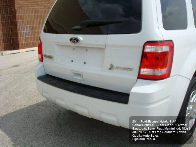 2011 Ford Escape Hybrid 4dr SUV - Highland Park IL