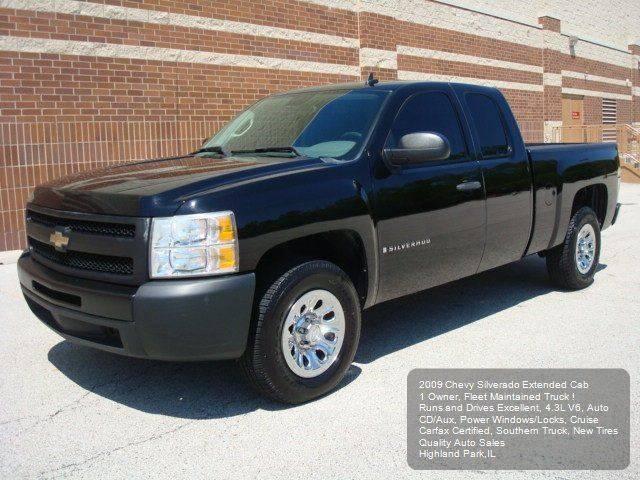 2009 Chevrolet Silverado 1500 4x2 Work Truck 4dr Extended Cab 6.5 ft. SB - Highland Park IL