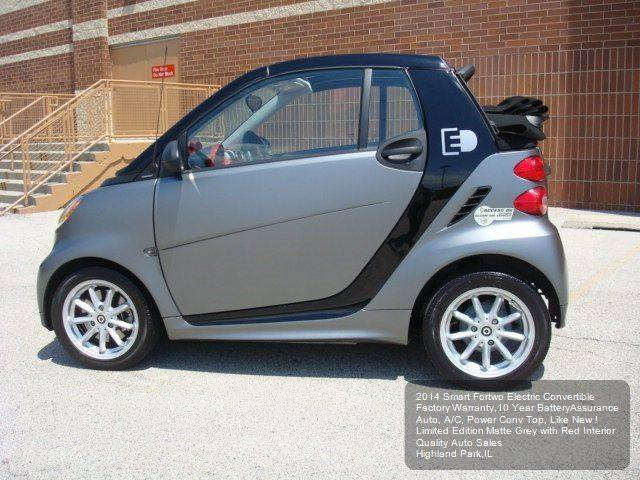 2014 Smart fortwo passion electric drive cabriolet 2dr Cabriolet - Highland Park IL