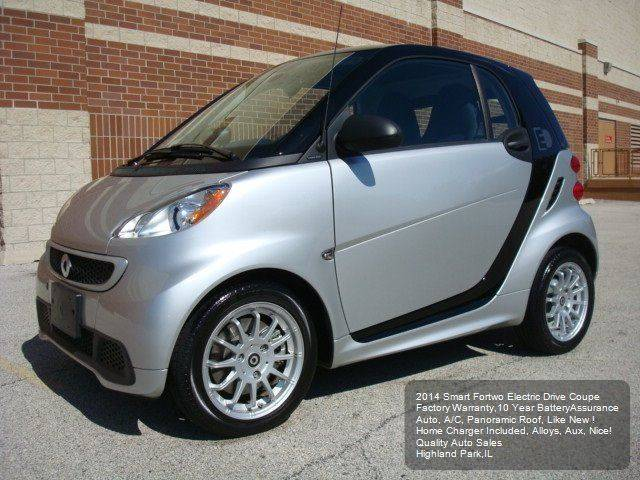 2014 Smart fortwo passion electric drive 2dr Hatchback - Highland Park IL