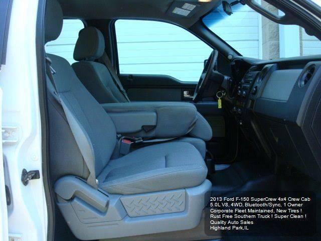 2013 Ford F-150 4x4 XL 4dr SuperCrew Styleside 6.5 ft. SB - Highland Park IL